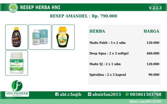 resep herba Amandel
