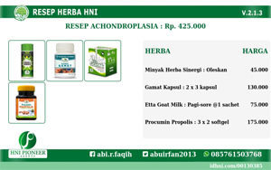 Banner Resep Achondroplasia