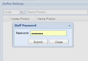 Password Staff
