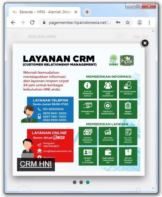Layanan CRM