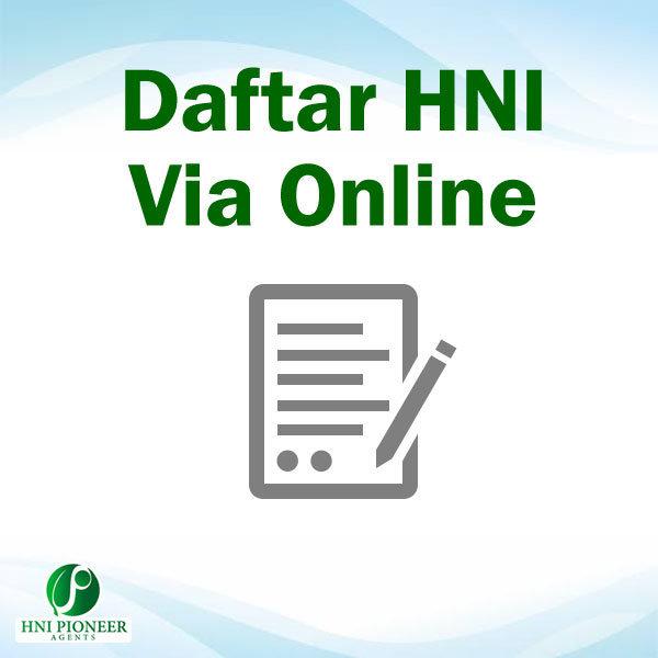 Cara Daftar HNI Online